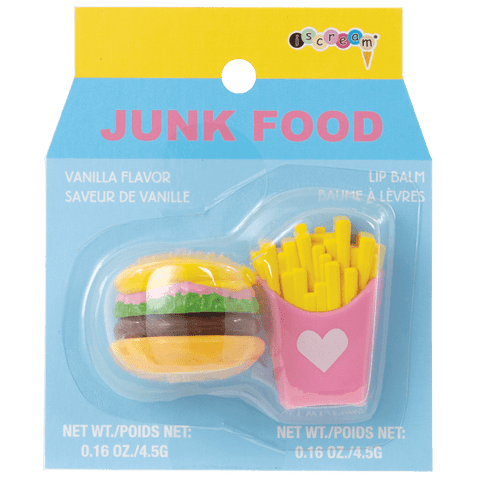 Junk Food Lip Balm Set