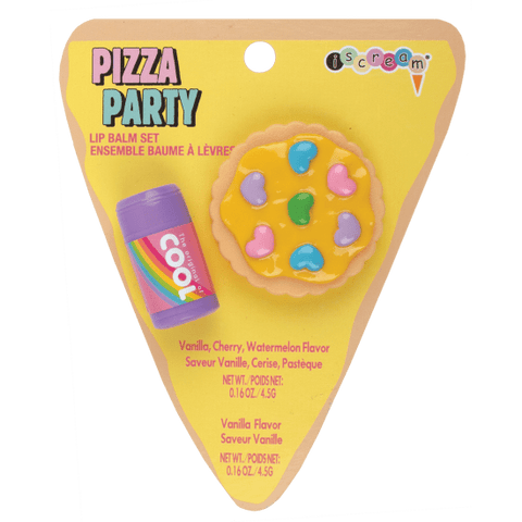 Pizza Party Lip Balm Set