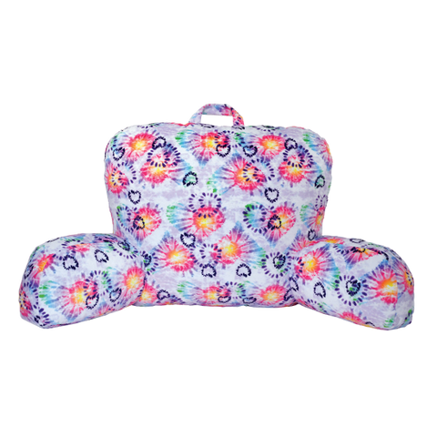 Heart Tie Dye Lounge Pillow