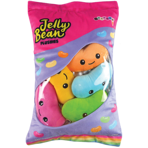 Jelly Beans Fleece Pillow