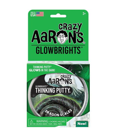 Crazy Aaron's Dragon Scales Glowbrights Thinking Putty