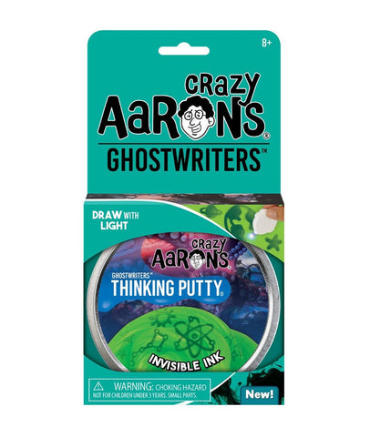 Crazy Aaron's Invisible Ink Ghostwriters Thinking Putty