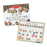 Deluxe Wooden Stamp Set - ABCs 123s