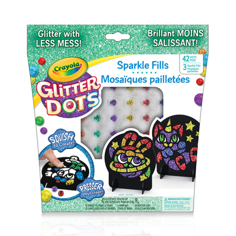 Crayola Glitter Dots Sparkle Fills Kit