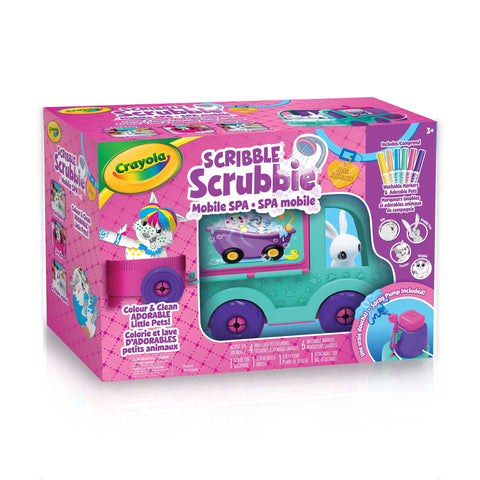 Scribble Scrubbie Pets Mobile Spa Playset