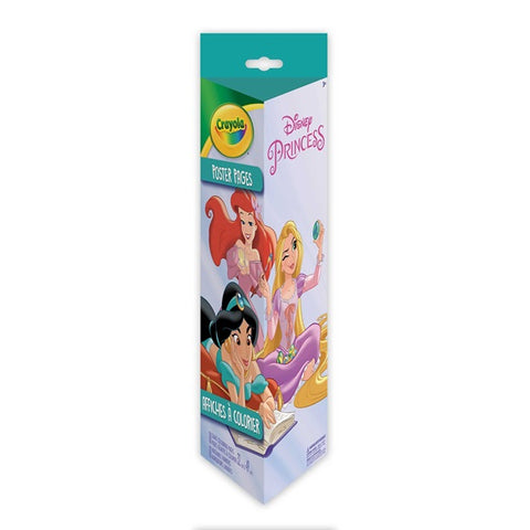 Crayola Poster Pages & Markers Set - Disney Princesses