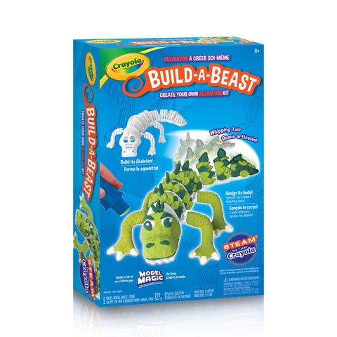 Crayola Build-A-Beast Craft Kit - Alligator