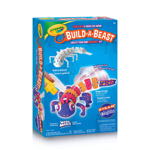 Crayola Build-A-Beast Craft Kit - Dragonfly
