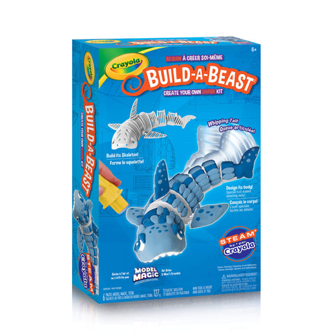 Crayola Build-A-Beast Craft Kit - Shark