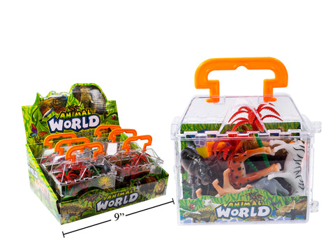 Animal World Wild Animal Playset