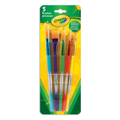 Crayola Variety Brush Set 5 Count