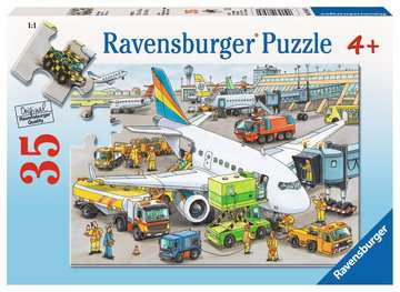 Ravensburger Busy Airport Jigsaw Puzzle 35pc