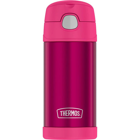 Thermos FUNtainer Stainless Steel Water Bottle with Straw 12oz - Solid Colours
