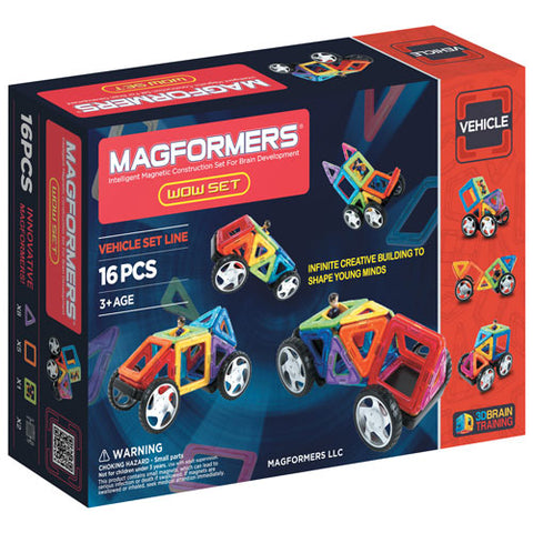 Magformers WOW 16 Piece Set
