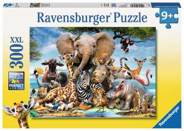 Ravensburger African Friends Jigsaw Puzzle 300pc