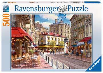 Ravensburger Quaint Shops 500 Piece Puzzle
