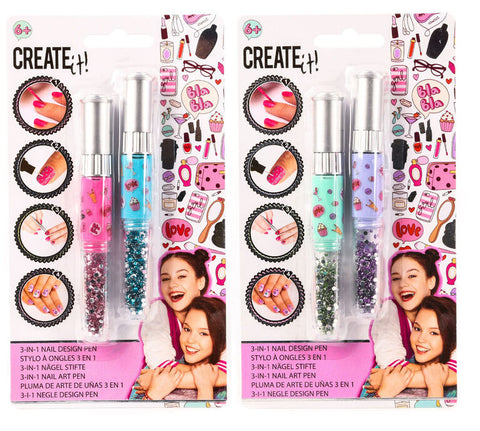 Create It! Nail Art 3 In 1 Pen