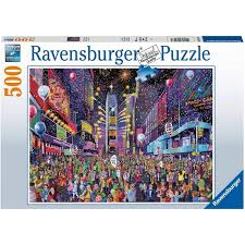 Ravensburger New Years Eve in Times Square 500 Piece Puzzle