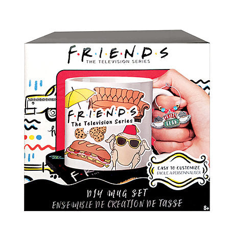 FRIENDS D.I.Y. Mug Design Set