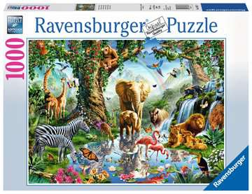 Ravensburger Adventures In The Jungle 1000 Piece Puzzle
