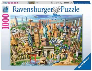 Ravensburger World Landmarks 1000 Piece Puzzle