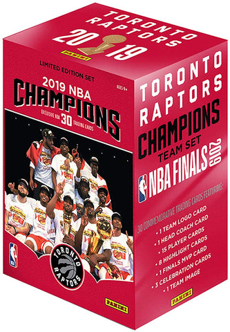 2019 NBA Champions Trading Cards Limited Edition Set