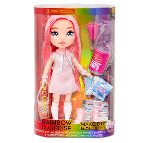 Pixie Rose Rainbow Surprise DIY Slime Fashion Doll