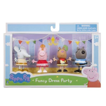 Peppa Pig Peppa & Friends Fancy Dress Party 4 Pack