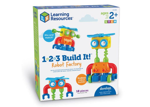 1-2-3 Build It! Robot Factory