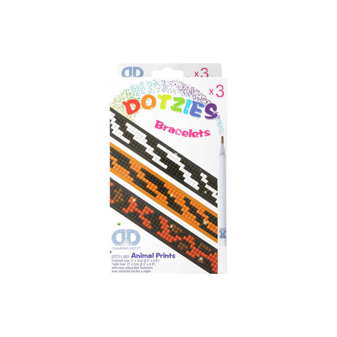 Diamond Dotz Dotzies Bracelets Animal Prints