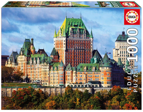 Educa Frontenac Castle Jigsaw Puzzle 1000pc