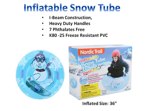 Nordic Trail Inflatable Snow Tube