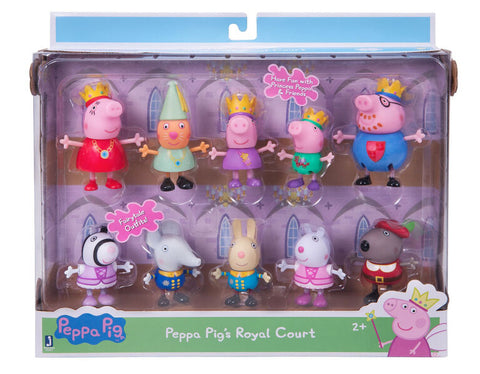 Peppa Pig's Royal Court 10 Pack