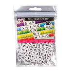 Fashion Angels Tell Your Story Alphabet Bead Bag - Large Cubes