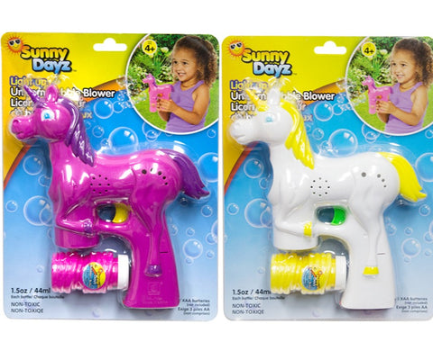 Light Up Unicorn Bubble Shooter