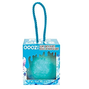 Ooozie Slimy Bath Burst Bug Guts Blue Raspberry Scented