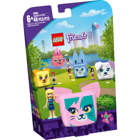 Lego Friends Stephanie's Cat Cube