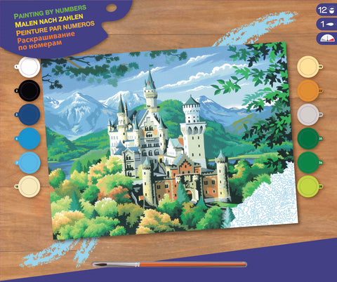 Painting By Numbers - Neuschwanstein Castle