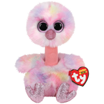 "TY Beanie Boos - Avery the Pink Pastel Ostrich 9""/13"" Plush"