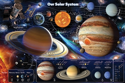 Cobble Hill Our Solar System Floor Puzzle 48pc