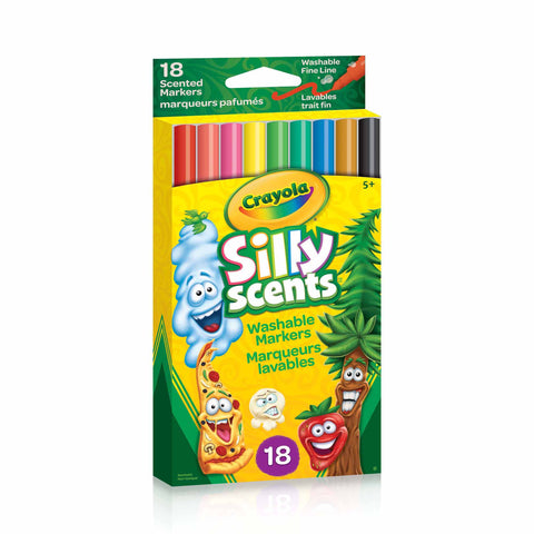 Crayola Silly Scents Fine Line Markers 18 Pack