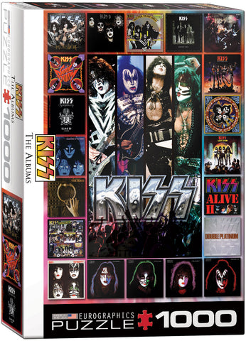 Eurographics KISS: The Albums 1000 Piece Puzzle