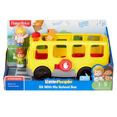 Little People Sit With Me School Bus