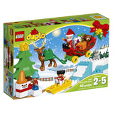 Lego Duplo Santa's Winter Holiday