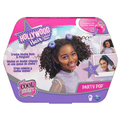 Cool Maker Hollywood Hair Extension Maker Party Pop Refill