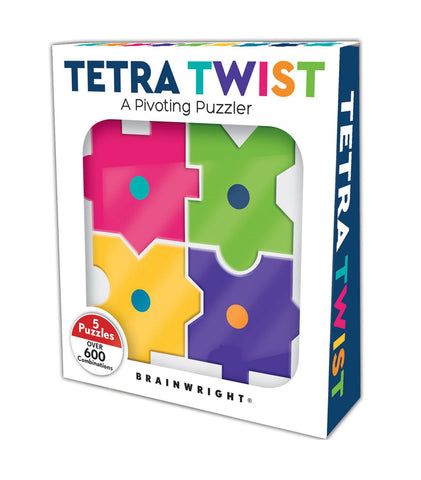 Tetra Twist: A Pivoting Puzzler