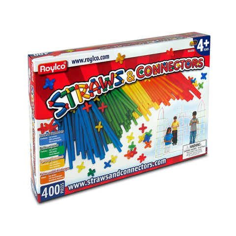 Straws & Connectors 400 Pieces
