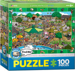 Eurographics A Day At The Zoo 100 Piece Puzzle