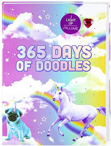 365 Days of Doodles Light up Journal