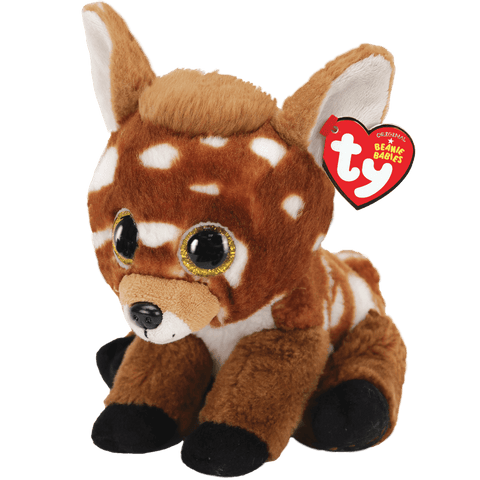 "TY Beanie Babies - Buckley the Deer 6"" Plush"